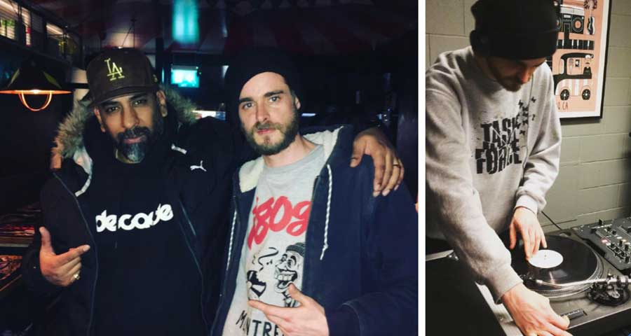 Beatmakers meeting: Senz Beats and Jazz T in London