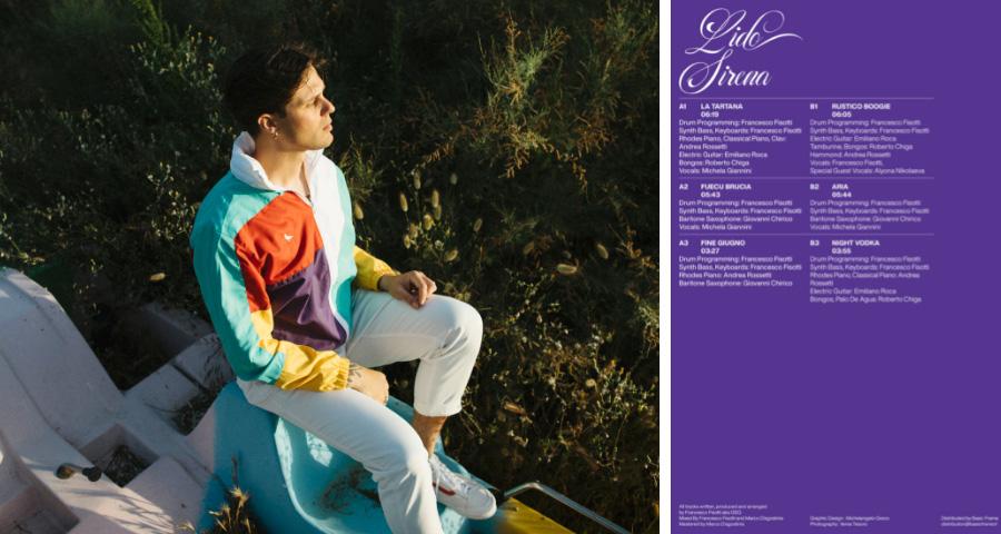 """adriatic funk album """"lido sirena"""" from francesco fisotti aka GSQ"""